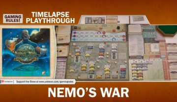 Nemos War – Timelapse solo playthrough