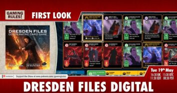 Dresden Files Card Game Digital – First Look
