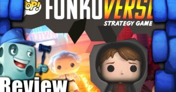 Funkoverse Strategy Game: Back to the Future – Marty McFly & Doc Brown Review with Tom Vasel