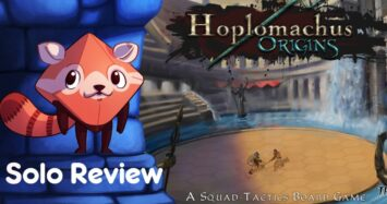 Hoplomachus: Origins Review – with Liz Davidson
