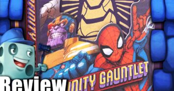 Infinity Gauntlet: A Love Letter Game Review with Tom Vasel