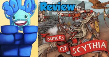 Raiders of Scythia Solo Mode Review – with Mike DiLisio