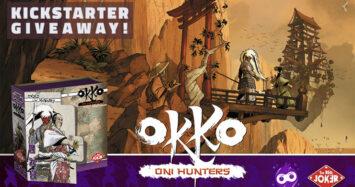 Okko – Oni Hunters Kickstarter Giveaway!