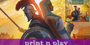 7 Wonders Duel – Print n Play