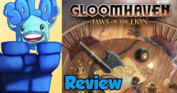 Gloomhaven: Jaws of the Lion Solo Mode Review – with Mike DiLisio