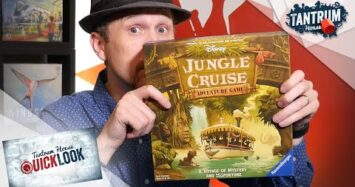 Jungle Cruise Board Game Overview