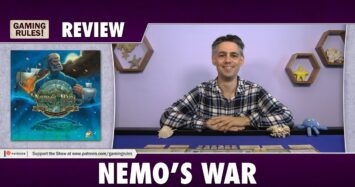 Nemo's War – A Gaming Rules! Review