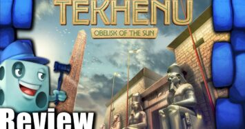 Tekhenu: Obelisk of the Sun Review – with Tom Vasel