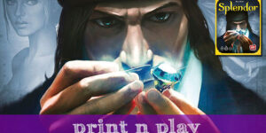 Splendor – Print n Play (Requires the original board game to play)