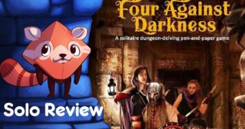 Four Against Darkness Review – with Liz Davidson