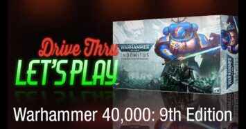 Warhammer 40,000 9th Edition Let's Play and Review