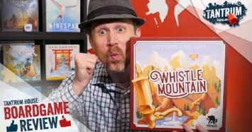 Whistle Mountain Board Game Review