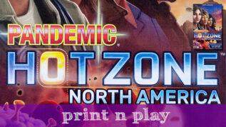 Pandemic: Hot Zone – Print n Play