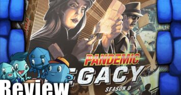 Pandemic Legacy Season 0 Review – with The Dice Tower