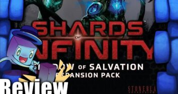 Shards of Infinity: Shadow of Salvation Review – with Tom Vasel