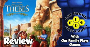 Thebes Review – with Our Family Plays Games