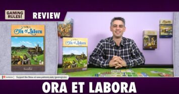 Ora et Labora – A Gaming Rules! Review