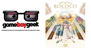 Rococo Deluxe Edition Components Showcase & Review with the Game Boy Geek