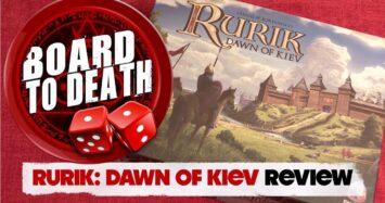 Rurik Dawn of Kiev Board Game Video Review