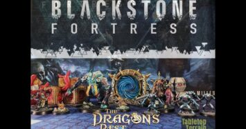 Terrain Week – 3D Blackstone Fortress terrain from The Dragon's Rest and Tabletop Terrain Shop