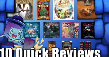 10 Quick Reviews with Tom Vasel