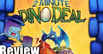 2 Minute Dino Deal Review – with Tom Vasel