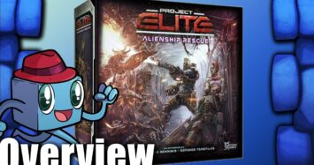 Project Elite: Alienship Rescue Overview – with Tom Vasel