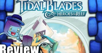Tidal Blades: Heroes of the Reef – Angler's Cove Review – with Tom Vasel