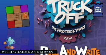 Truck Off Roll And Write Review With Graeme Anderson