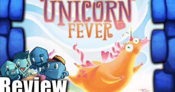 Unicorn Fever Review – with The Dice Tower