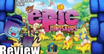 Tiny Epic Dinosaurs Review – with Tom Vasel