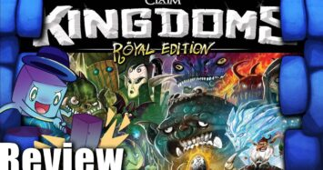 Claim Kingdoms Review – with Tom Vasel
