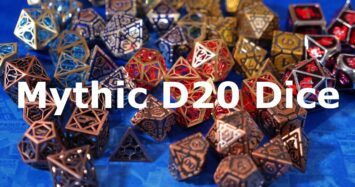D20 Mythical Dice Collection