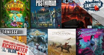 February 2021 Board Games (1st half) on Crowdfunding Platforms