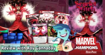 Marvel Champions: The Card Game – Scarlet Witch Hero Pack Review with Roy Cannaday