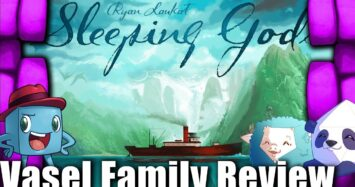 Vasel Family Reviews: Sleeping Gods