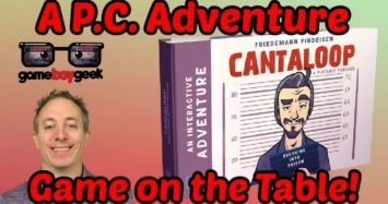 A P.C. Adventure Game on the Table – Cantaloop: Breaking Into Prison Review with the Game Boy Geek