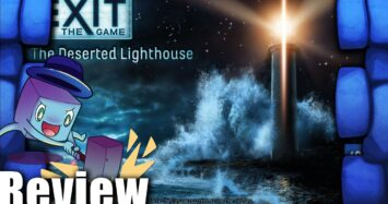 Exit: The Game + Puzzle – The Deserted Lighthouse Review   with Tom Vasel