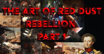 The Art of Red Dust Rebellion part 1