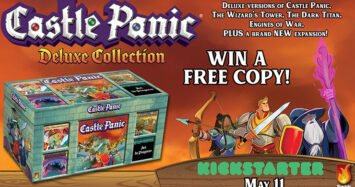 Castle Panic Deluxe Collection Kickstarter Giveaway!