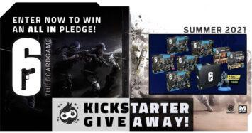 6: Siege – The Board Game Kickstarter Giveaway!