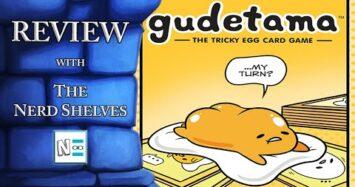 Gudetama Review – with The Nerd Shelves