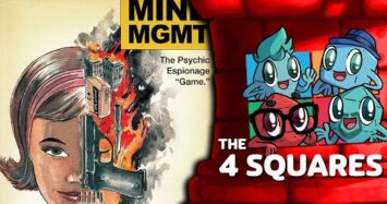 """The 4 Squares Review – Mind MGMT: The Psychic Espionage """"Game"""