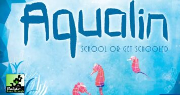 Aqualin – For 2p abstract fans looking for conflict and components!