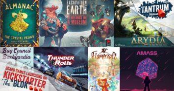 Board Games on Kickstarter August 2021 (1st half)