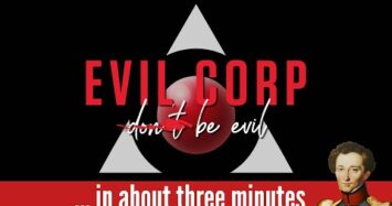 Evil Corp in about 3 minutes
