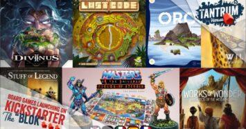 July 2021 KS 2nd half Board Games on Kickstarter