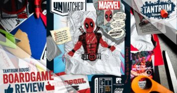 Let's showcase Deadpool! The newest playable character from Unmatched and Restoration Games.