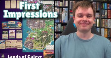 Lands of Galzyr – First Impressions