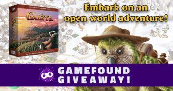 Lands of Galzyr Gamefound Giveaway!